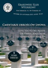 Cmentarze obrońców Lwowa - lwow